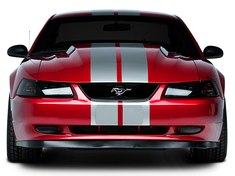 American Muscle Graphics Silver Lemans Stripes - 8 in. (94-04 All)