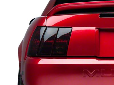 1999 2000 2001 2002 2003 2004 Fits: Mustang Pre-Cut Vinyl Overlay Complete Headlight and Taillight Plus Tint Light Subject 9