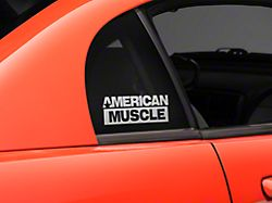 American Muscle Graphics AmericanMuscle Quarter Window Decal - Frosted (94-04 All)