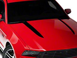 American Muscle Graphics Black Hood Accent Decal (10-12 GT, V6)