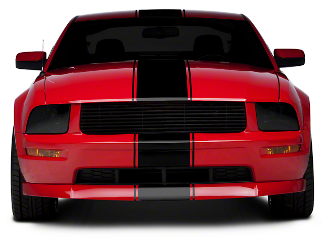 SEC10 Super Snake Style Stripes; Black (05-14 All)