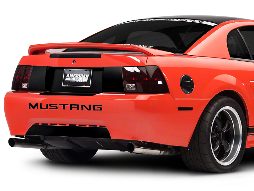 American Muscle Graphics Black Rear Decklid Blackout Decal (99-04 All)