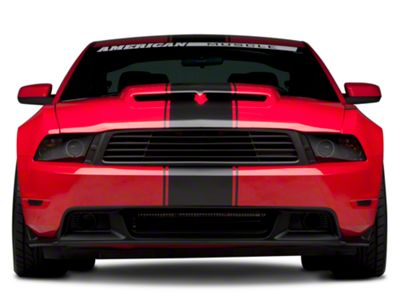 American Muscle Graphics Matte Black Super Snake Style Stripe Kit (79-19 All)