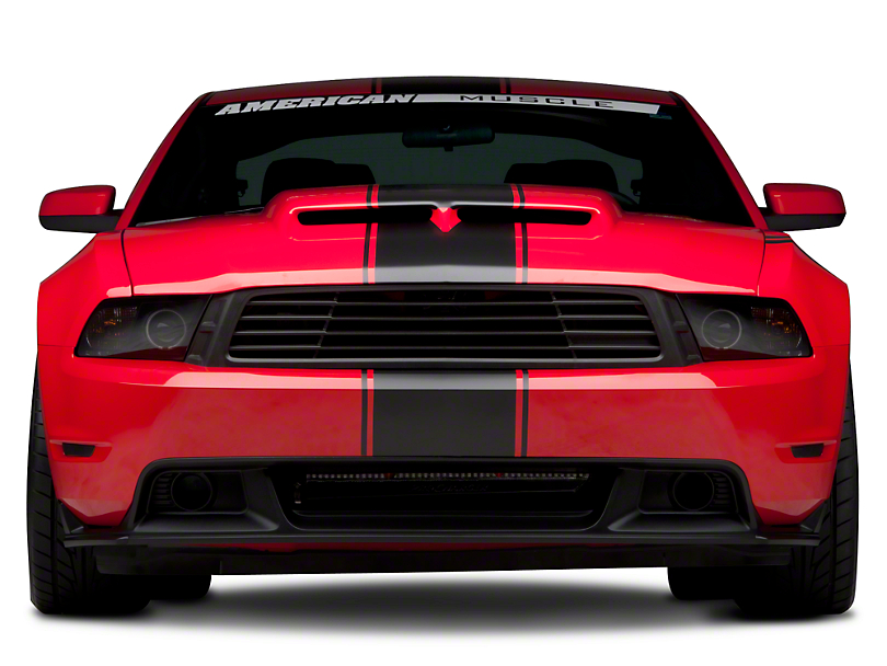 American Muscle Graphics Matte Black Super Snake Style Stripe Kit (79-17 All)