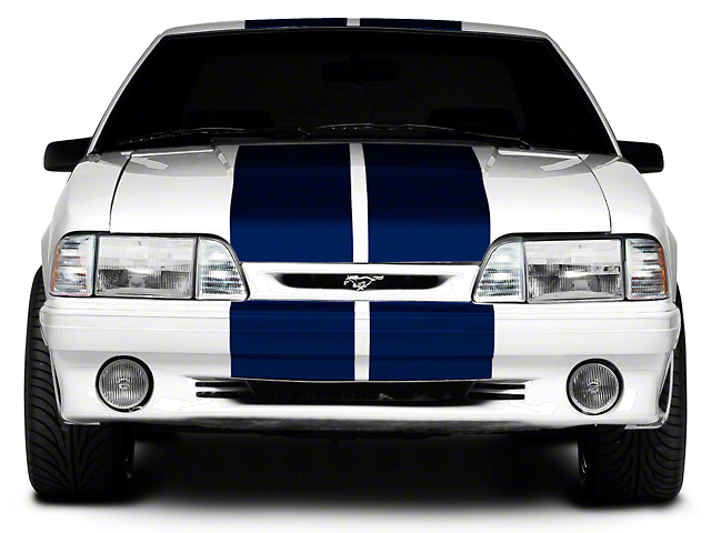 American Muscle Graphics Blue Lemans Stripes - 12 in. (79-93 All)