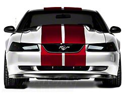 SEC10 Lemans Stripes; Red; 12-Inch (94-04 All)