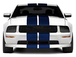 American Muscle Graphics Blue GT500 Style Stripes - 10 in. (05-14 All)