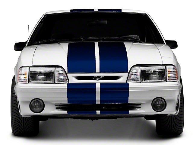 American Muscle Graphics Blue GT500 Style Stripes - 10 in. (79-93 All)
