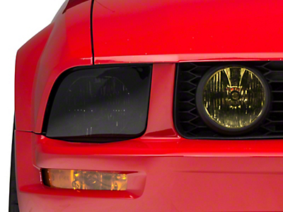 American Muscle Graphics Yellow Fog Light Tint (05-12 GT)