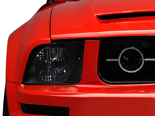 American Muscle Graphics Smoked Fog Light Tint (05-09 V6 w/ Pony Package)