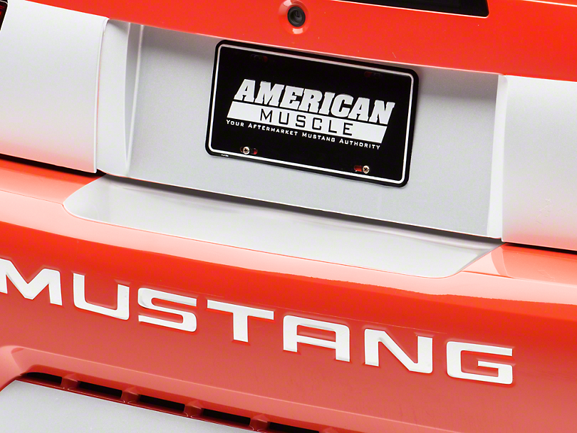 American Muscle Graphics White Rear Bumper Accent (99-04 All)