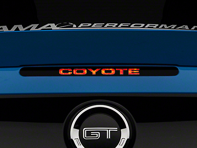 American Muscle Graphics Coyote Third Brake Light Decal (11-14 All)