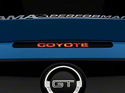 SEC10 Coyote Third Brake Light Decal (11-14 All)