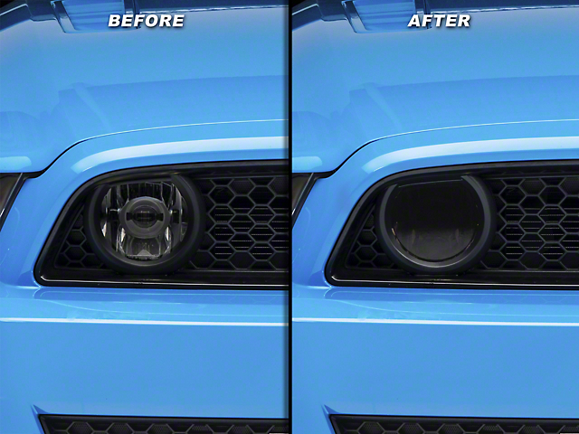SEC10 Fog Light Tint; Smoked (13-14 GT)