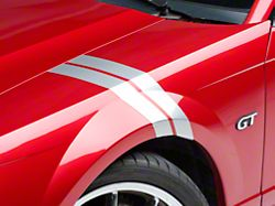 American Muscle Graphics Silver Hash Marks - Right Side (94-04 All)
