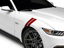 American Muscle Graphics Red Hash Marks - Pair (15-19 All)