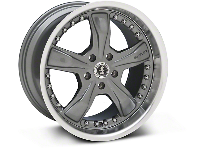 Shelby Razor Gunmetal Wheel - 18x10 (05-14 GT, V6)