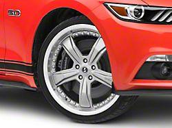 Shelby Razor Gunmetal Wheel; 20x9 (15-20 GT, EcoBoost, V6)