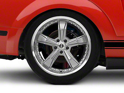Shelby Razor Gunmetal Wheel - 20x10 (05-14 All)