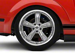 Shelby Razor Gunmetal Wheel - 20x10 - Rear Only (05-14 All)