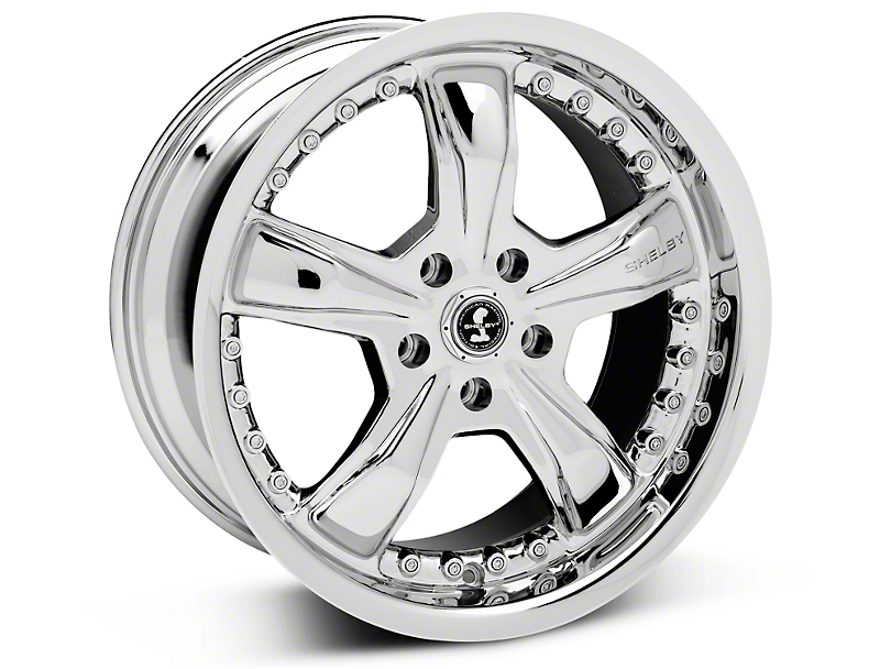 Shelby Razor Chrome Wheel - 18x9 (05-14 GT, V6)