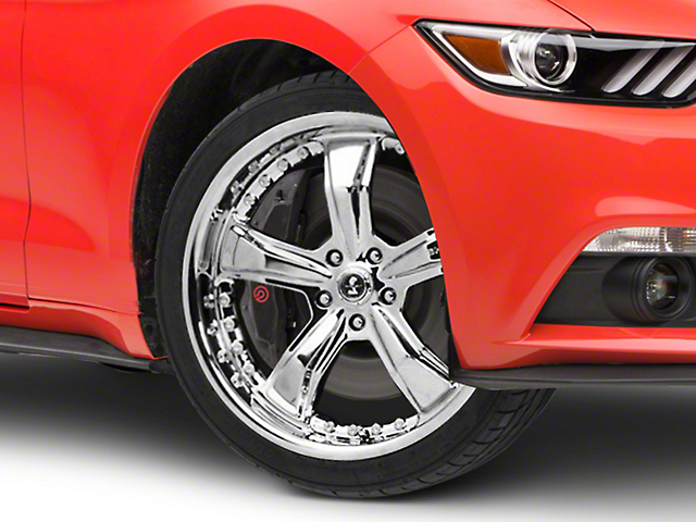 Shelby Razor Chrome Wheel - 20x9 (15-18 GT, EcoBoost, V6)