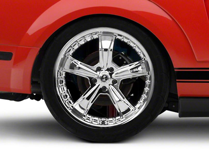 Shelby Razor Chrome Wheel - 20x10 (05-14 All)