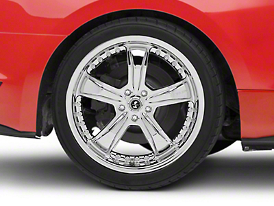 Shelby Razor Chrome Wheel - 20x10 (15-18 GT, EcoBoost, V6)