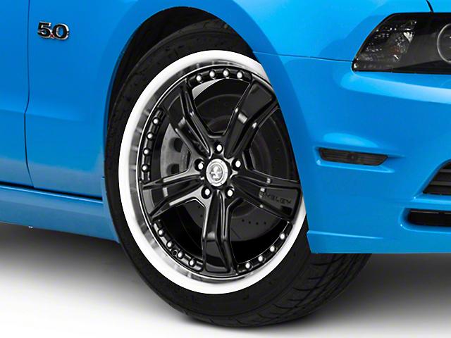 Shelby Razor Black Wheel; 20x9 (10-14 All, Excluding 13-14 GT500)
