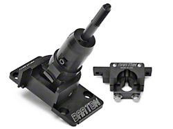 Barton Short Throw Shifter and Two-Post Bracket; MT-82 (11-14 GT, V6)