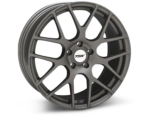 TSW Nurburgring Matte Gunmetal Wheel - 19x8.5 (05-14 All)