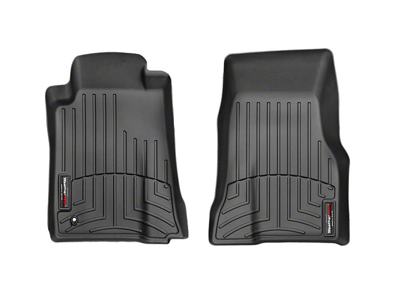Weathertech DigitalFit Front All Weather Floor Liners - Black (05-09 All)