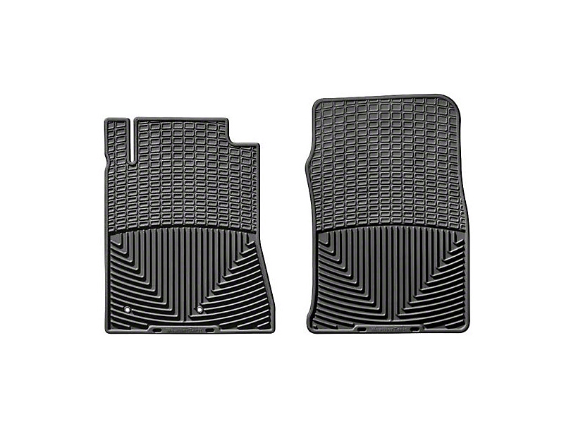 Weathertech All Weather Front Rubber Floor Mats - Black (09-10 All)