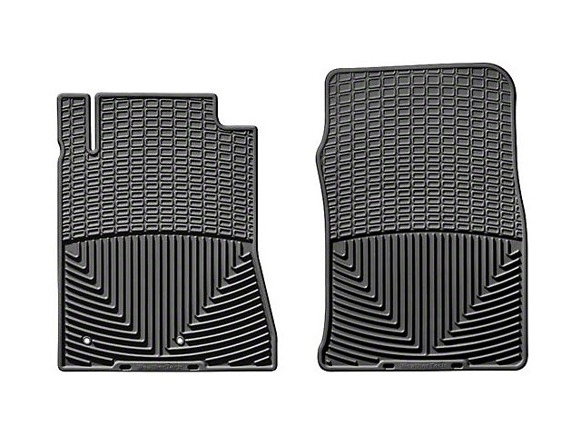 Weathertech Front All Weather Rubber Floor Mats - Black (10-14 All)