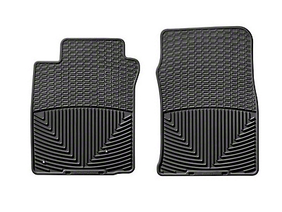 Weathertech Front All Weather Rubber Floor Mats - Black (05-09 All)