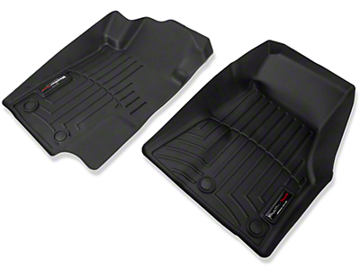 Weathertech Front All Weather Floor Liners - Black (13-14 All)
