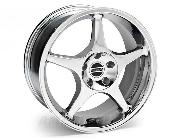 Chrome 2000 Cobra R Style Wheel - 18x9 (94-04 All)