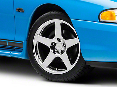 2003 Cobra Style Chrome Wheel - 17x9 (94-04 All)
