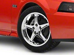 1995 Cobra R Style Chrome Wheel; 17x9 (99-04 All)