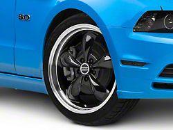 Deep Dish Bullitt Black Wheel; 20x8.5 (2010 GT; 10-14 V6)