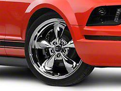 Deep Dish Bullitt Chrome Wheel; 20x8.5 (05-09 GT, V6)