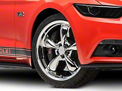 Deep Dish Bullitt Chrome Wheel; 20x8.5 (15-20 EcoBoost, V6)