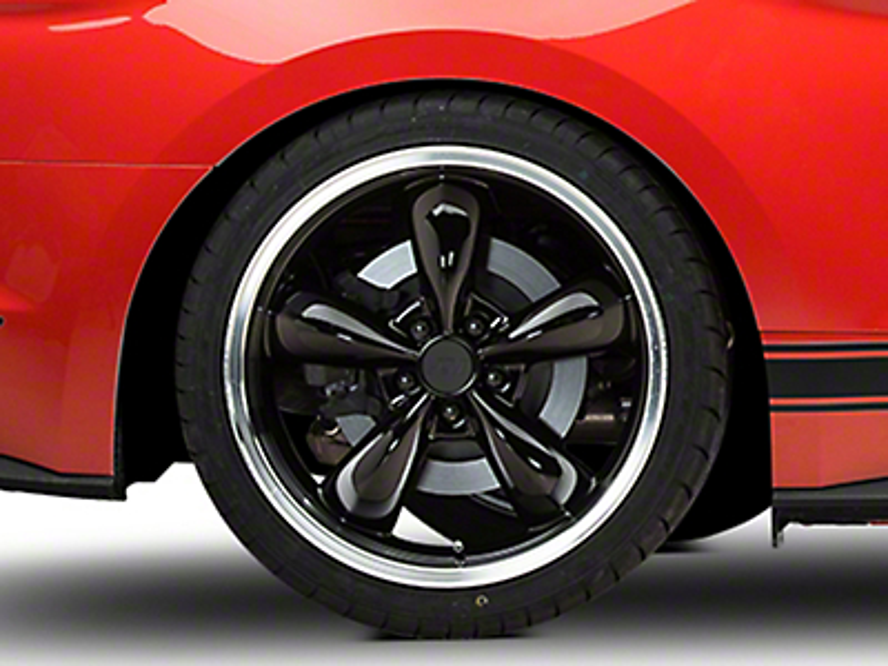 Deep Dish Bullitt Black Wheel - 20x10 (15-17 EcoBoost, V6)