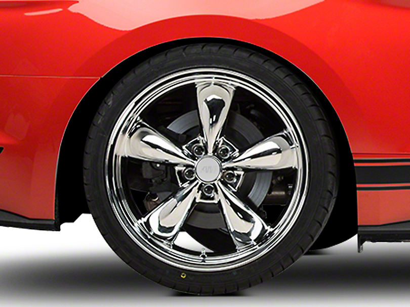 Deep Dish Bullitt Chrome Wheel - 20x10 (15-17 EcoBoost, V6)