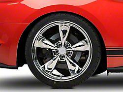 Deep Dish Bullitt Chrome Wheel; Rear Only; 20x10 (15-20 EcoBoost, V6)