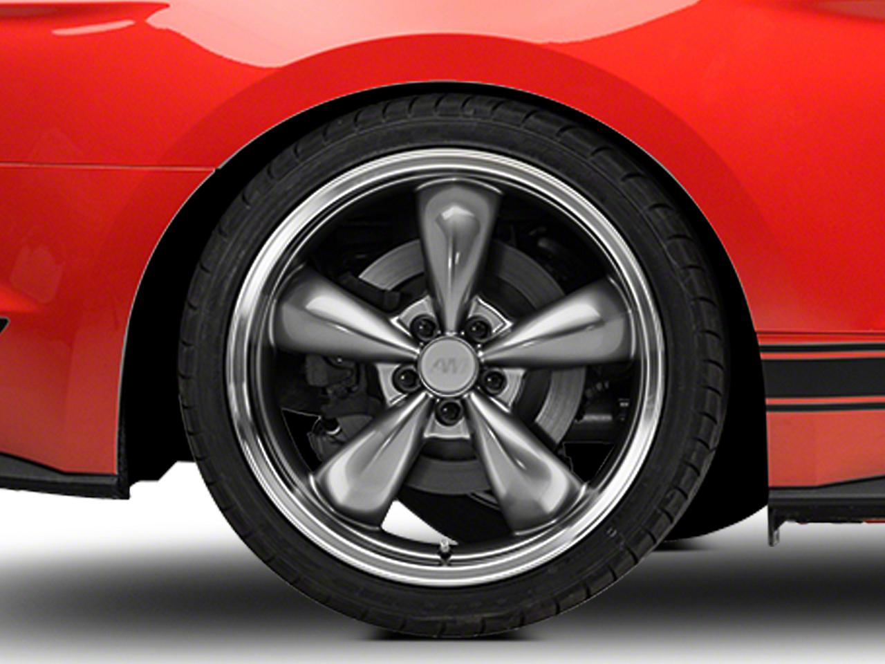 Deep Dish Bullitt Anthracite Wheel - 20x10 (15-19 EcoBoost, V6)