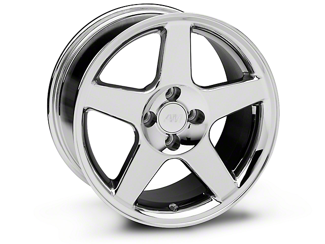 2003 Cobra Style Chrome Wheel - 17x9 (87-93 All, Excluding Cobra)