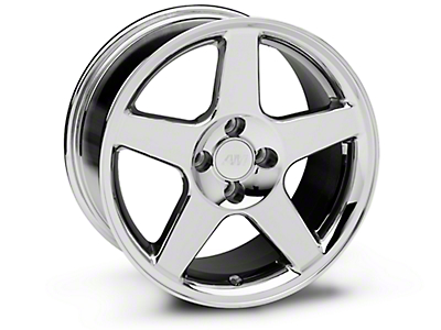 2003 Cobra Style Chrome Wheel - 17x9 (87-93 All, Excluding 1993 Cobra)