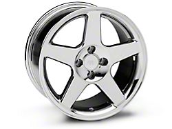 2003 Cobra Style Chrome Wheel; 17x9 (87-93 All, Excluding Cobra)