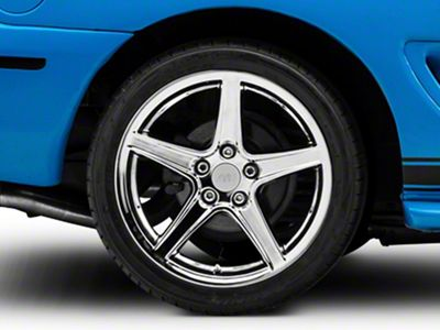 mustang saleen style chrome wheel 18x10 94 04 all 1974 Mustang Mach 2 saleen style chrome wheel 18x10 rear only 94 04 all